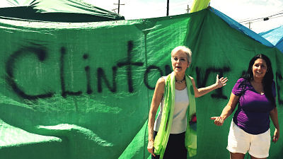Jill Stein (left) Cheri Honkala (right) LBW Photo