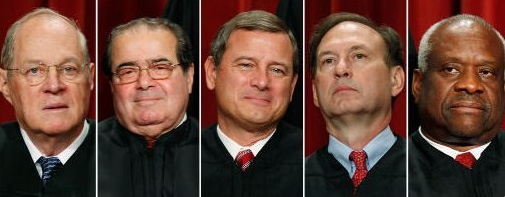 Five pushy, conservative old Catholic men are running the Supreme Court