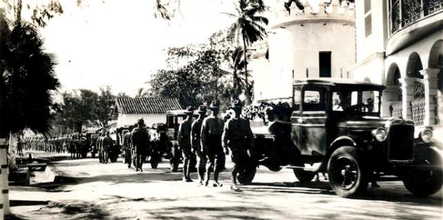 US Marines in Nicaragua in 1931