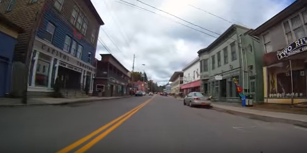 A main street in Delaware County, NY