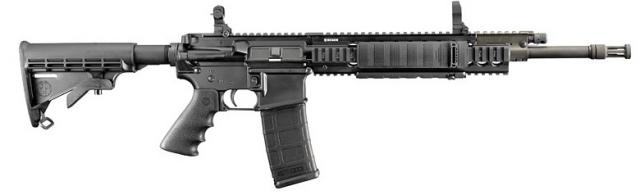AR-15 Assault rifle with loaded clip