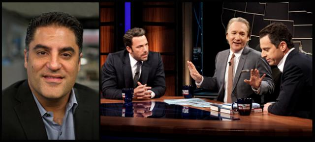 Cenk Uygur with Ben Afflect, Bill Maher and Sam Harris