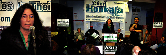 Cheri Honkala announces she's running for Sheriff of Philadelphia