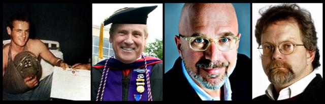 David Christian, Michael Smerconish and Kevin Ferris