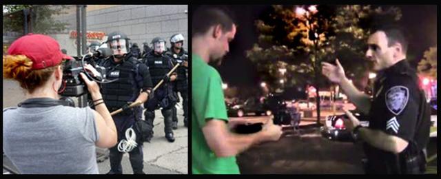 Citizens videotaping cops