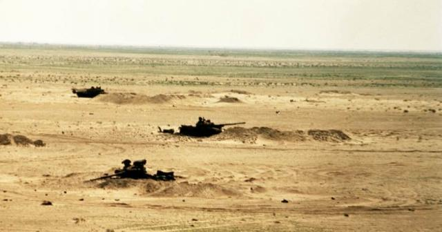 Capt. McMaster's vastly superior Abrams tanks were able to destroy Iraqi tanks at a distance, out of range of any Iraqi returning fire, makin