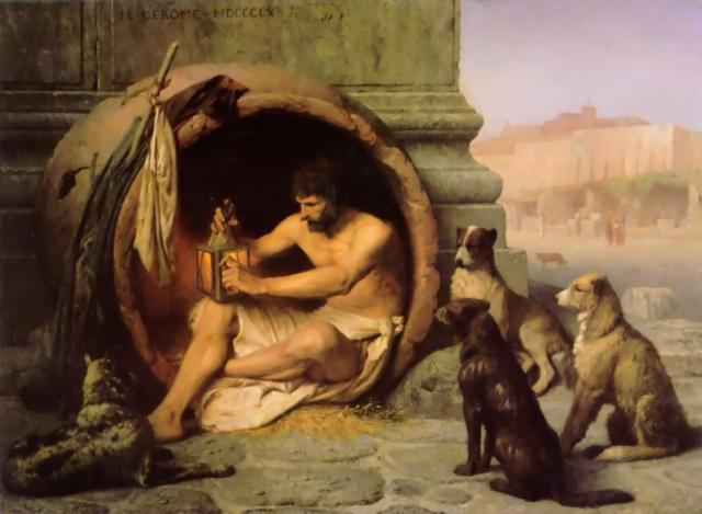 Diogenes at home