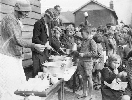 Feeding hungry kids during the Great Depression