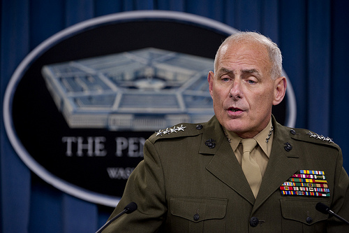 Gen. (ret) John Kelly, Trump's chief of staff, thinks military people are a cut above ordinary civilian heroes