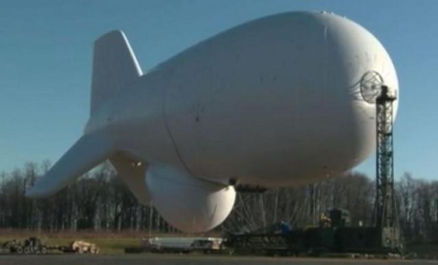 Giant government spy blimp cuts loose and heads for the open ocean