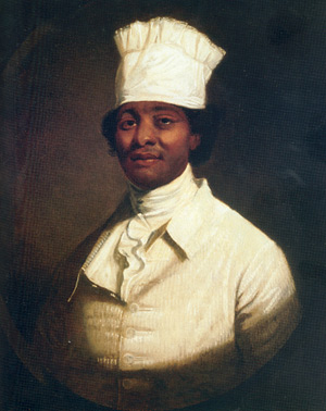 Hercules, Washington's chef, and one of the slaves he brought to Philadelphia as president, who later fled to freedom
