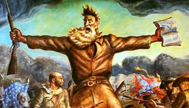 Kansas politics has a long history of both radicalism and lunacy. Both are coming to the fore these days (John Brown mural from