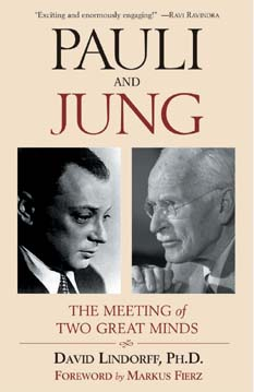 The author's book: Jung and Pauli: The Meeting of Two Great Minds
