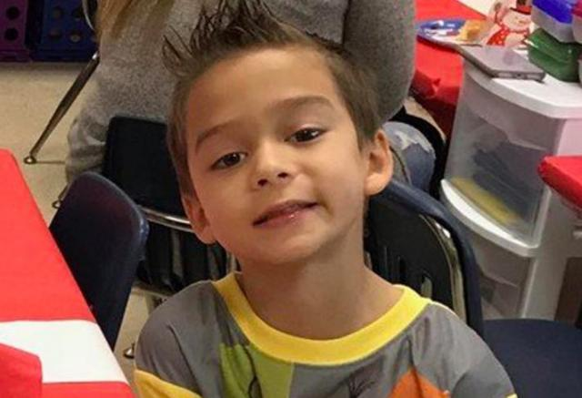 Six-year-old Kameron Prescott, killed by Texas sheriff's deputies (photo courtesy Shertz-Cibolo-Universal City Unified Schools)