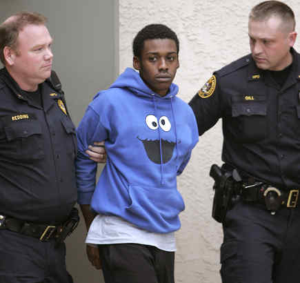 Oops! Kenneth Woods, body-slammed by arresting officers, was later released and declared entirely innocent in car crash case