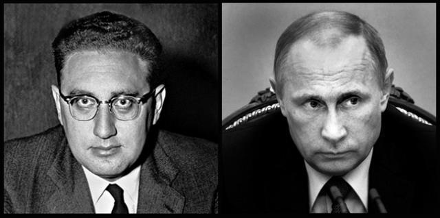 Two successful, mainstream killers? Henry Kissinger and Vladimir Putin