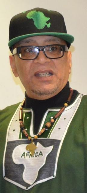 Anti-racism activist Lee Jasper. LinnWashingtonPhoto