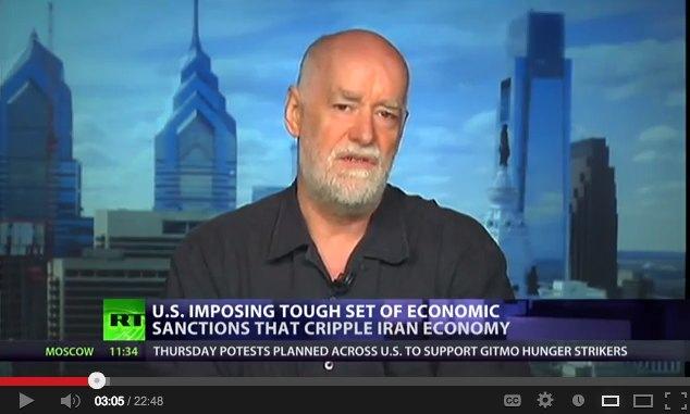 Lindorff on RT-TV's 'Cross-Talk' Program with Richard Weitz and Zachary Keck