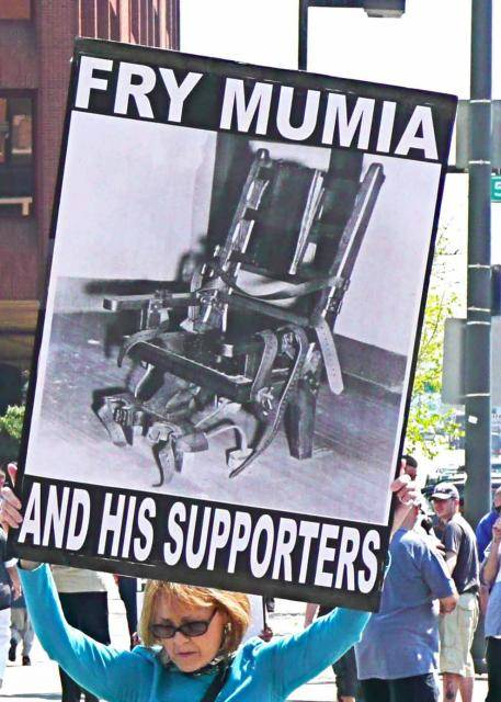 "Public pressure to release Mumia Abu-Jamal from the ""Hole"" trumped the pressure from those trying to keep torturing him (photo b"