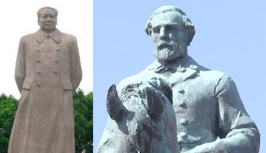 Do we need to see their statues every day in the public square?