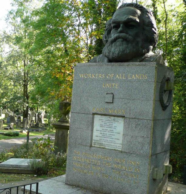 Marx spoke of the immiseration of the workers, and today's capitalists are proving him right (Washington photo)