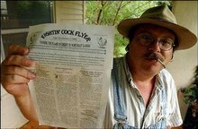 "Michael Cadell, ""shotgun journalist,"" raises journalistic hell in his native Kansas"