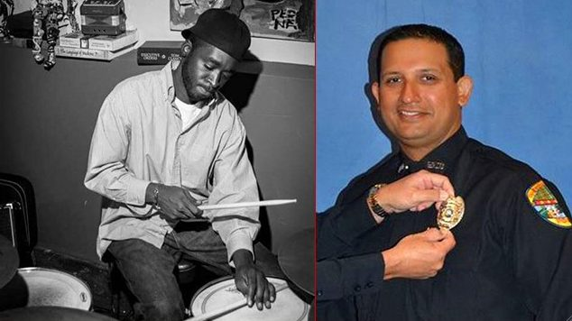 Musician Corey Jones and his killer, Police Officer Nauman Raja