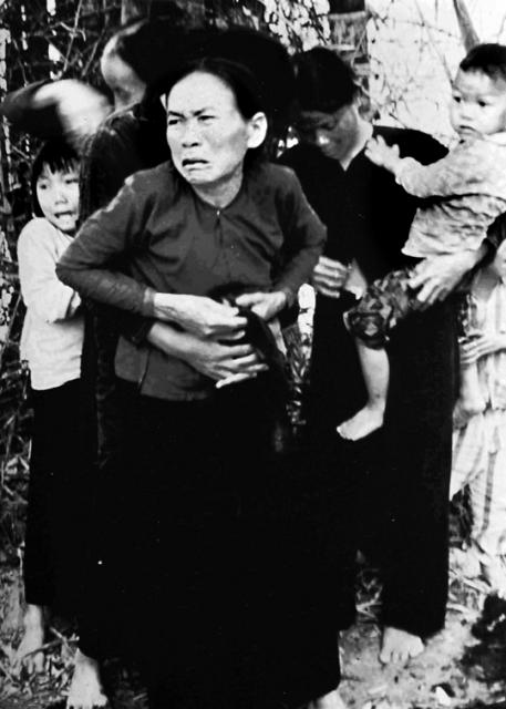 My Lai residents moments before they were killed. (Ron Haberle/WikiCommons)