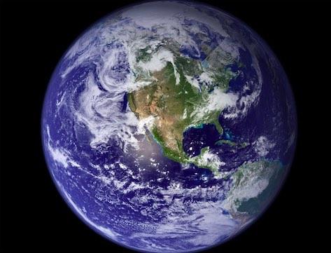Blue Marble (NASA photo)
