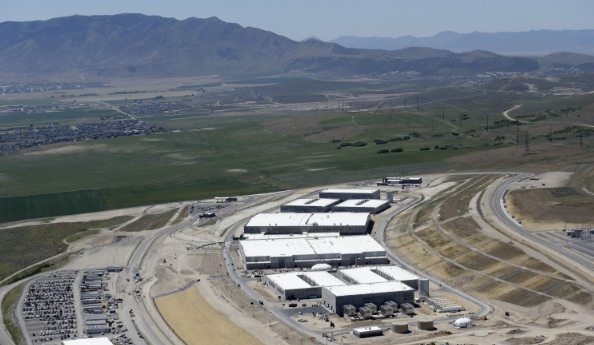 The NSA's $2-billion National Cybersecurity (sic) Initiative Data Center in Utah. Feeling safer now?