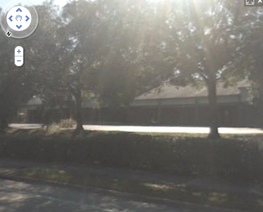 The empty strip mall in Orlando where Davis claims his company, Hyperion Protective Consultants LLC, is based