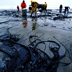 An oil spill under the ice would be impossible to stop or clean up.