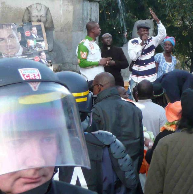 The US-backed French military overturn of the recent Ivory Coast election has sparked weekly rallies by Africans in Paris