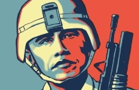 "America's latest presidential ""peace"" laureate."
