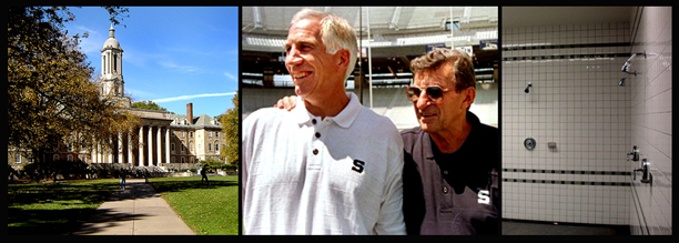 The Penn State Campus, Jerry Sandusky and Joe Paterno before the fall