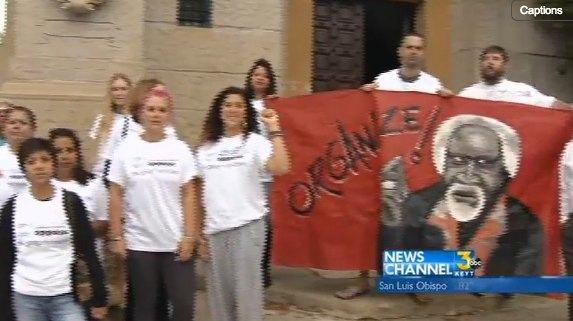 Latino protesters against proposed Santa Barbara, CA gang injunction