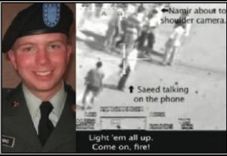 Bradley Manning and the Video -- fragment of a leaflet from the Georgia Green Party