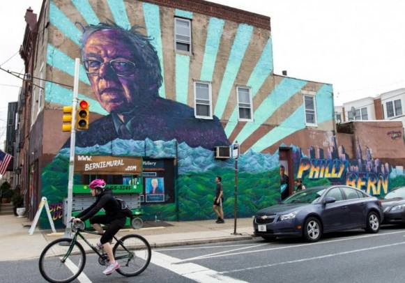 Tens or hundreds of thousands of Sanders backers plan to descent on Philadelphia in July to push Sanders not to endorse Hillary Clinton and to run as an independent or Green candidate for president in the general election
