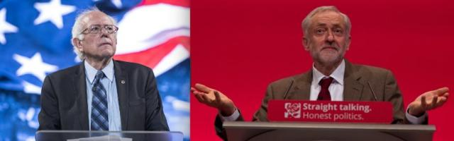 US media claims that Labour leader Jeremy Corbyn is a British 'Bernie Sanders' are misleading. Corbyn's a real leftist with a program and plan to win power
