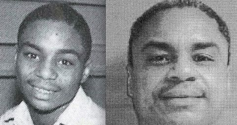 Terry Williams as a young teen and as he looks now awaiting execution after 30 years on Pennsylvania's death row