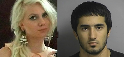 Tatiana and Ashur, friends of Ibragim Todashev, a young man blown away by an FBI agent during a midnight interrogation in his ho