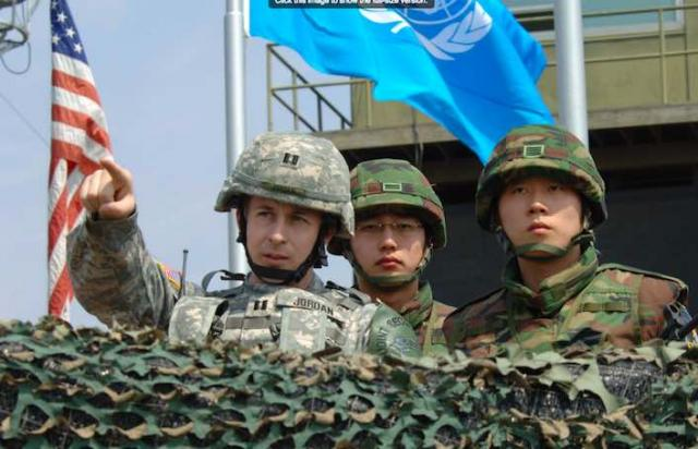 The US military still calls the shots in South Korea,  even over that country's own military