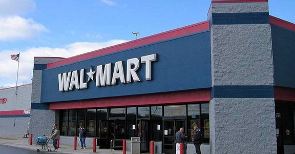 Walmart stores were the target of occupations in Oklahoma City last Friday