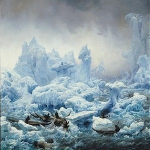 Scenes like this painting of a walrus hunt will soon no longer exist in the Arctic, as the North Pole heats up
