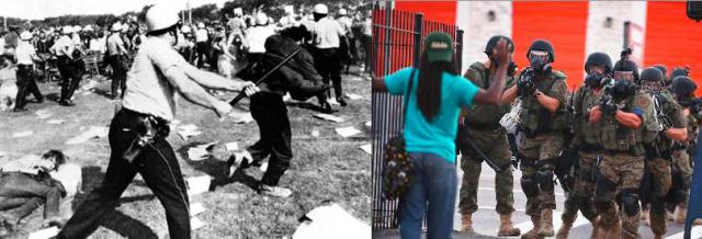50 years and still the same police violence and racism