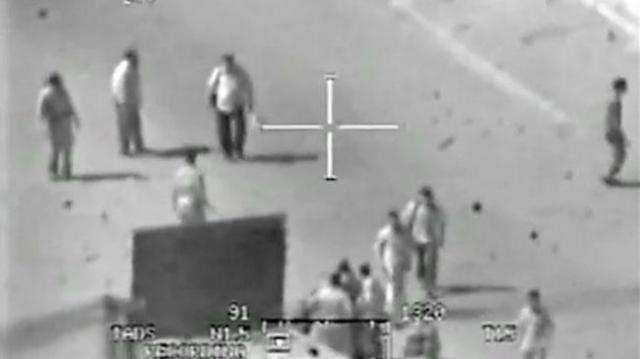 Wikileaks released this video of a helicopter crew slaughtering civilians and two Reuters cameramen in Baghdad