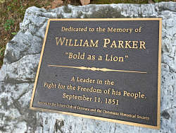 Welcomed recognition of William Parker. LBW Photo