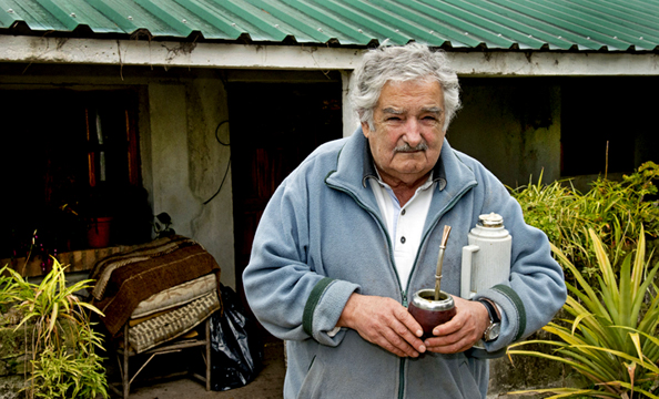 "Former Uruguayan President Jose ""Pepe"" Mujica at his farmhouse, where he lived while he was president"