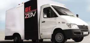 One of the 500 X-ray vans Homeland Security has bought to cruise the US zapping unsuspecting drivers