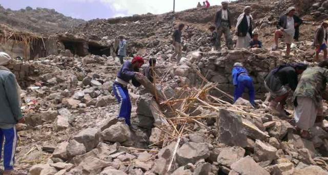 Destruction in Yemen courtesy of US supplied munitions to Saudi Arabia is catastrophic